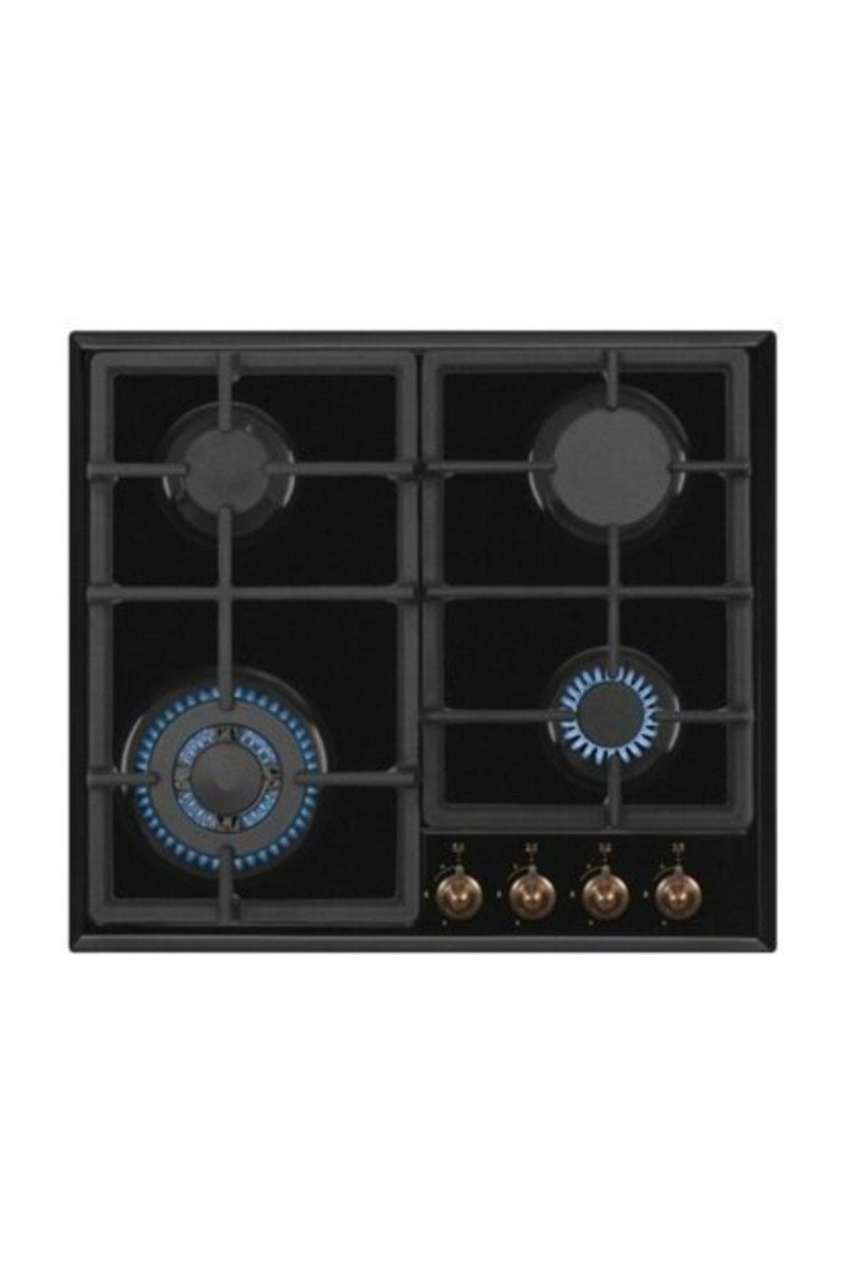 Simfer Rustik Siyah  Ankastre Set (7319 Fırın 3323 Ocak 8667 Davlumbaz)