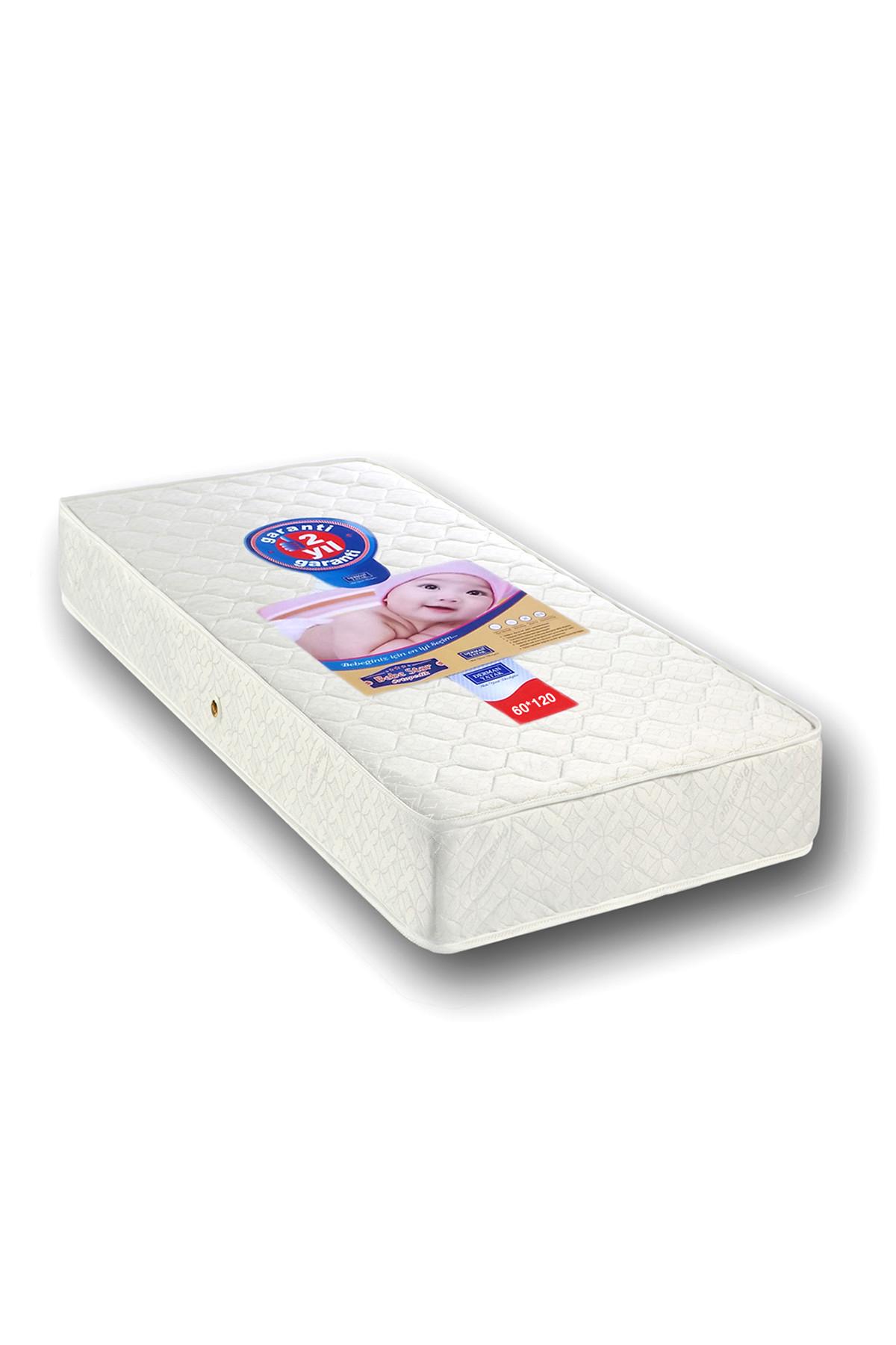 Derman Yatak Bebek Yatağı 60 x 120 cm Ortopedik Bebek Yatakları
