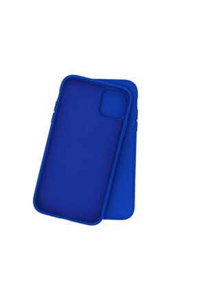 Shopi Redmi Note 8 Pro Içi Yumuşak Kadife Lacivert Lansman Silikon Kılıf Mükemmel Dokunuş 1