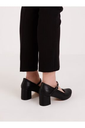 ayakkabıhavuzu Kadın  Topuklu Ayakkabı - Siyah 4
