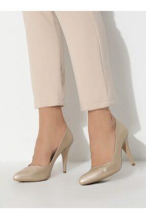 ayakkabıhavuzu Kadın Altın Topuklu Ayakkabı  1232756 0