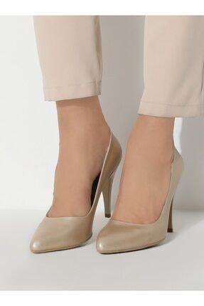 ayakkabıhavuzu Kadın Altın Topuklu Ayakkabı  1232756 1