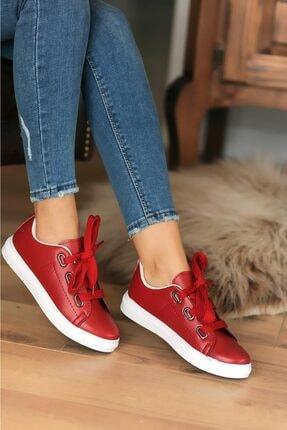 Pembe Potin Kırmızı Kadın Casual Ayakkabı A320-20 1