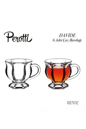 Perotti - Sefa Sefa Perotti Davide 6 Adet Çay Bardağı 11871 0