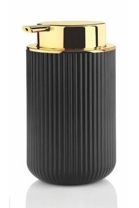 Perotti Lisbone Gold Siyah Sıvı Sabunluk 0
