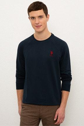 US Polo Assn Lacıvert Erkek Sweatshirt 0