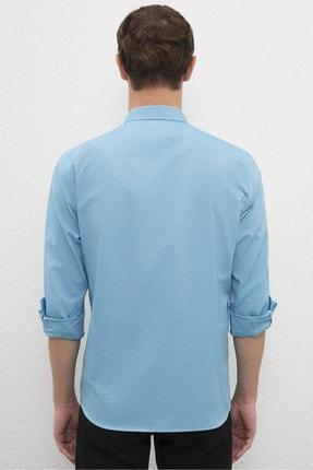 US Polo Assn Erkek Mavı Gömlek G081Gl004.000.1208586 2
