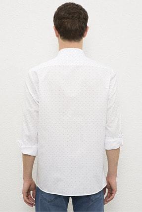 US Polo Assn Beyaz Erkek Gömlek G081Sz004.000.1180091 2