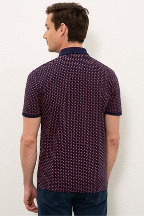 US Polo Assn Nar Cıcegı Erkek T-Shirt G081SZ011.000.1083023 2