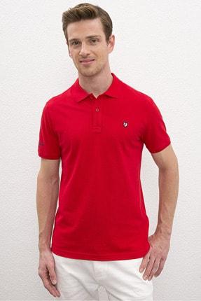 US Polo Assn Kırmızı Erkek T-Shirt 0
