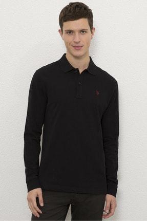 US Polo Assn Siyah Erkek Sweatshirt 0