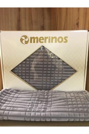Merinos Modern Line 3 Parça Battaniye Yatak Örtüsü 0