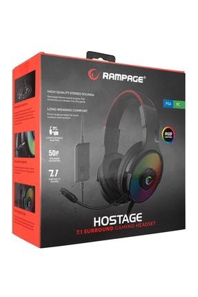 Rampage R46 Hostage Siyah 7.1 Usb Rgb Gaming Oyuncu Kulaklığı 3