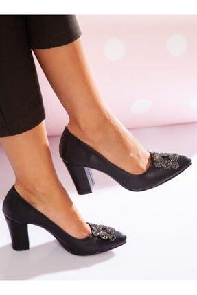ayakkabıhavuzu Kadın Siyah Topuklu Ayakkabı 3