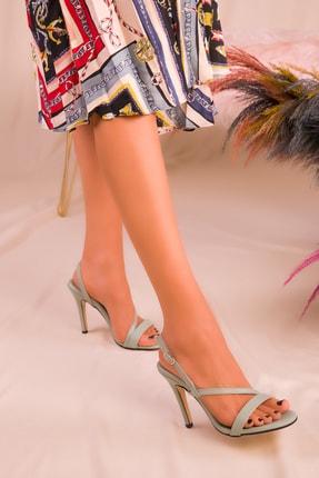 Soho Exclusive Yeşil Kadın Klasik Topuklu Ayakkabı 16210 1