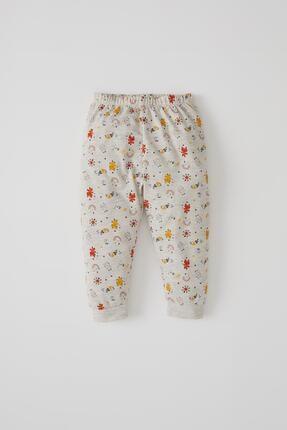 Defacto Erkek Bebek Desenli Kısa Kol Pijama Takımı 2