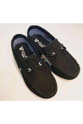 Vicco Erkek Çocuk Siyah Hakiki Süet Ortopedik Ayakkabı 1