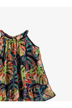 Koton Çiçekli Elbise 2