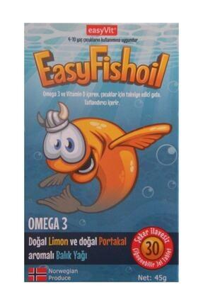 Easy Fishoil Easyfishoil Omega 3 Ve D Vitamini 4-10 Yaş 45 Gr 0