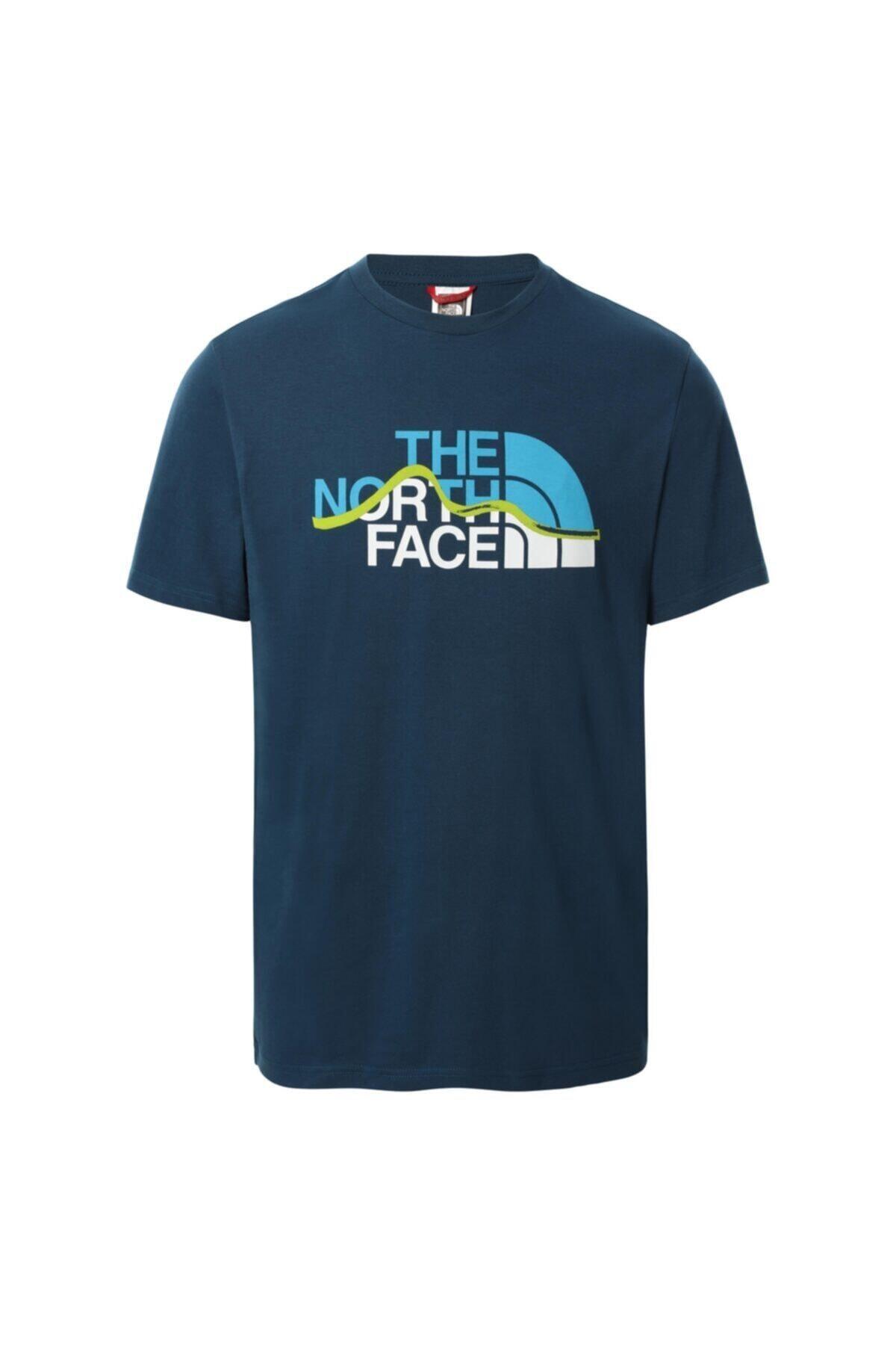 Erkek Lacivert The Nort Face Tshirt Eu Nf00a3g2bh71