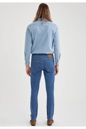 Defacto Pedro Slim Fit Normal Bel Dar Paça Jean Pantolon 2