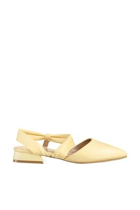 Soho Exclusive Sarı Kadın Sandalet 15933 3