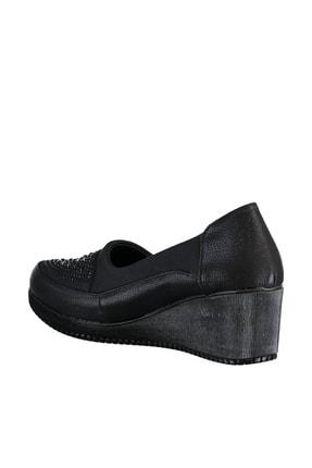 Soho Exclusive Siyah Kadın Dolgu Topuklu Ayakkabı 15979 3