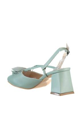 Soho Exclusive Mint Yeşil Kadın Klasik Topuklu Ayakkabı 15991 4