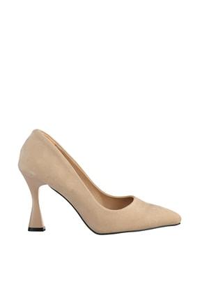 Soho Exclusive Ten Süet Kadın Klasik Topuklu Ayakkabı 16002 3