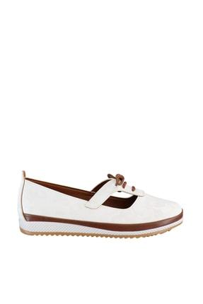 Soho Exclusive Beyaz Kadın Casual Ayakkabı 16101 3