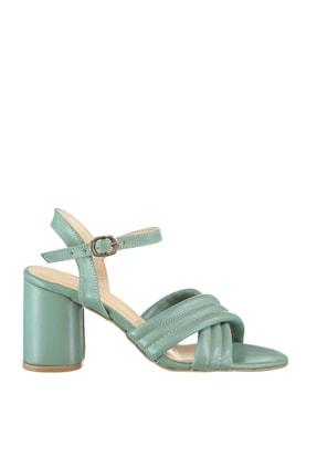 Soho Exclusive Yeşil Kadın Klasik Topuklu Ayakkabı 16098 3