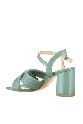 Soho Exclusive Yeşil Kadın Klasik Topuklu Ayakkabı 16098 4