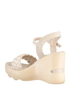 Soho Exclusive Ten Kadın Dolgu Topuklu Ayakkabı 16122 4