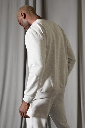Defacto Oversize Fit Bisiklet Yaka Basic Sweatshirt 3