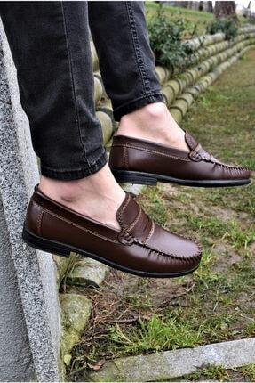 ALBİDÜNYA Erkek Kahverengi Günlük Ayakkabı 0