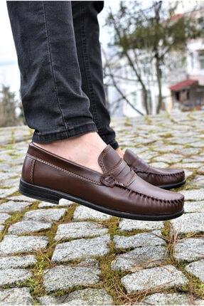 ALBİDÜNYA Erkek Kahverengi Günlük Ayakkabı 1
