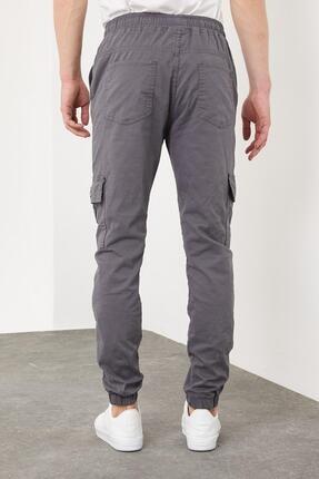Enuygunenmoda Erkek Slim Fit Jogger Pantolon Antrasit 4