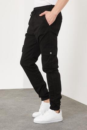 Enuygunenmoda Erkek Slim Fit Jogger Pantolon Siyah 0