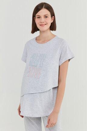 Kadın Pijama Üstü PNKK5U0721IY-AGJ