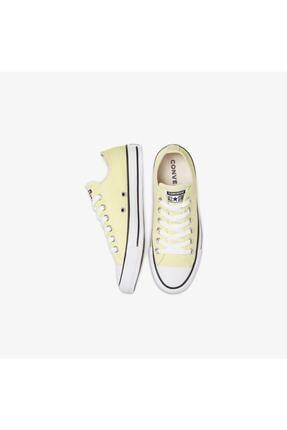 Converse Chuck Taylor All Star Pet Canvas Seasonal Color Kadın Sarı Sneaker 2