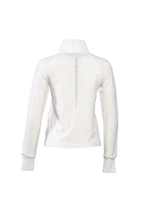 HUMMEL Unisex Beyaz Zip Jacket 2