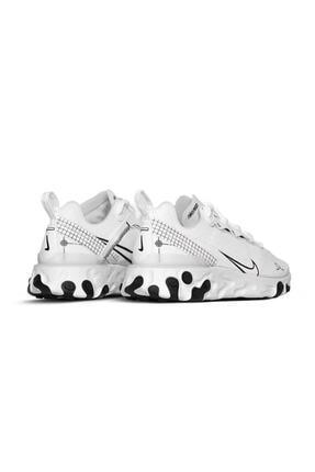 Nike Unisex Beyaz React Element 55 / Cu3009-100 Spor Ayakkabı 3