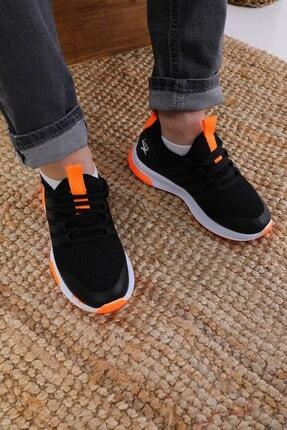 AlbiShoes Unisex Çocuk Siyah Sneaker 2