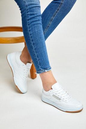 Tonny Black Unısex Spor Ayakkabı Beyaz Cilt Tb107 1