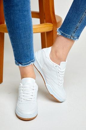 Tonny Black Unısex Spor Ayakkabı Beyaz Cilt Tb107 3