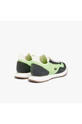Lacoste Match Break 0721 1 G Sfa Kadın Açık Yeşil - Beyaz Sneaker 741SFA0105 2