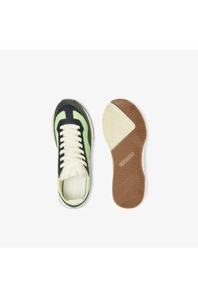 Lacoste Match Break 0721 1 G Sfa Kadın Açık Yeşil - Beyaz Sneaker 741SFA0105 3