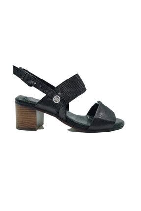 Kadın Simli Ayakkabı 21Y117K0-00025_ÇELİK SİMLİ