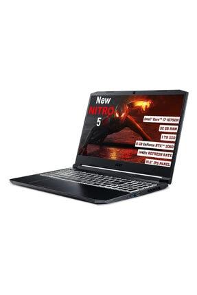 "ACER Nitro 5 Intel Core I7 10750h 32gb 1 Tb Ssd Rtx 3060 Freedos 144 Hz 15.6"" Fhd Ips Nh.qb2ey.003 1"