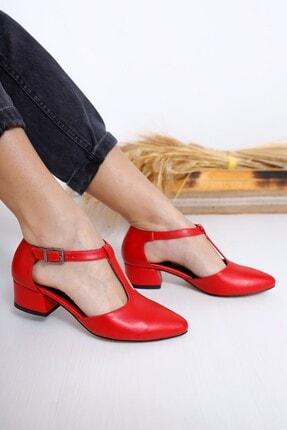 Kırmızı Topuklu Ayakkabı 2855720